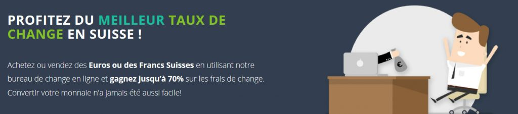 exchangemarket - taux de change chf eur